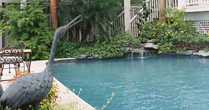 Custom Key West Style Pool