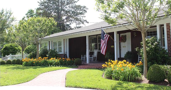 Garden Design Ranch Style House